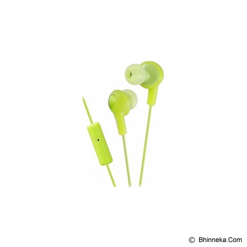 JVC Gumy Plus [HA-FR6] - Green - Earphone Ear Monitor / Iem